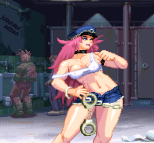 Final-Fight-Revenge-Capcom-Sega-Saturn-Pixel-Art-Xtreme-Retro-Poison